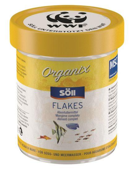 Organix Flakes, karma dla wszystkich ryb akwariowych
