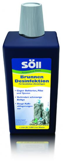 Brunnen Desinfektion